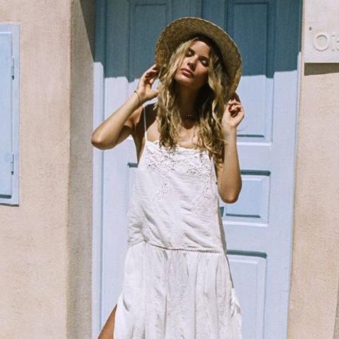 Magnolia Midi Dress