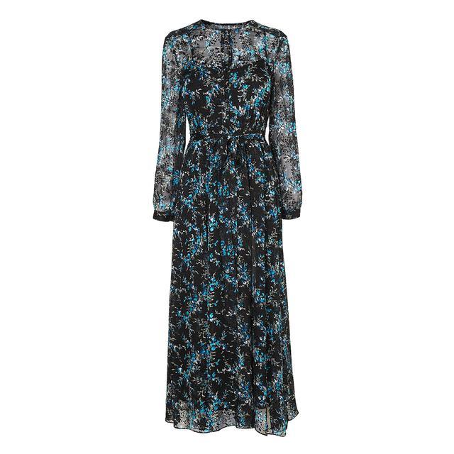 L.K.Bennett Cersei Evergreen Silk Dress