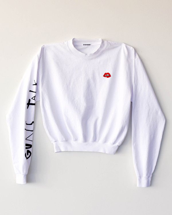 Everybody Limited Edition Gurls Talk Long Sleeve Crop