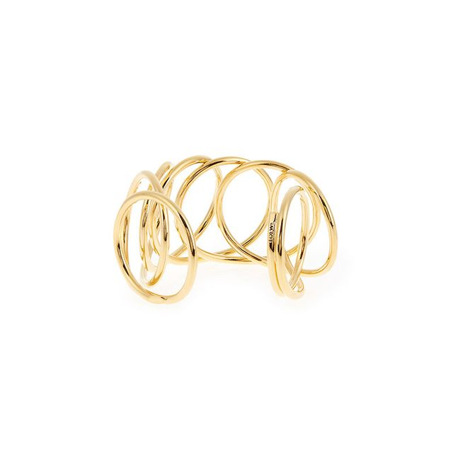 Loewe Wire Gold-Plated Cuff