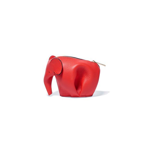 Loewe Elephant Leather Wallet
