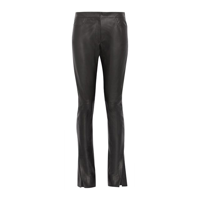 Loewe Flared Leather Pants