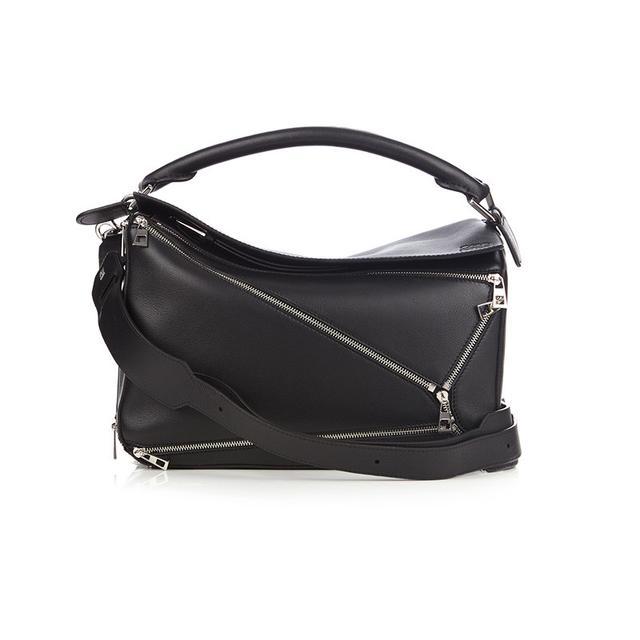 Loewe Puzzle Zips Leather Bag
