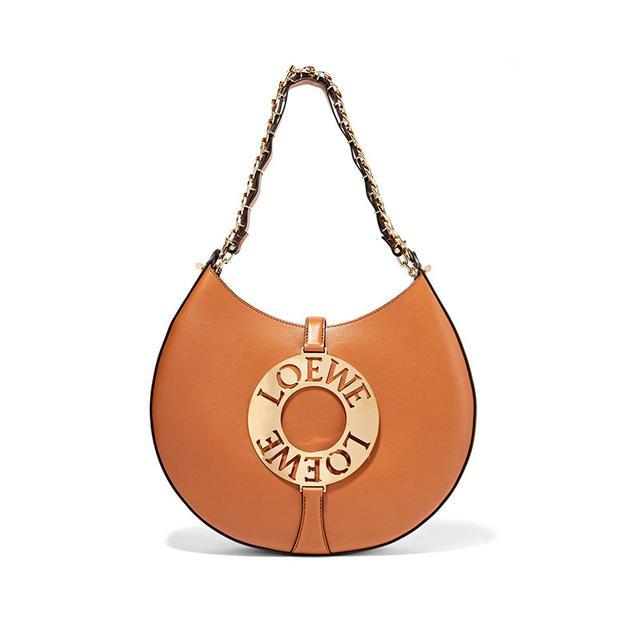 Loewe Joyce Leather Shoulder Bag
