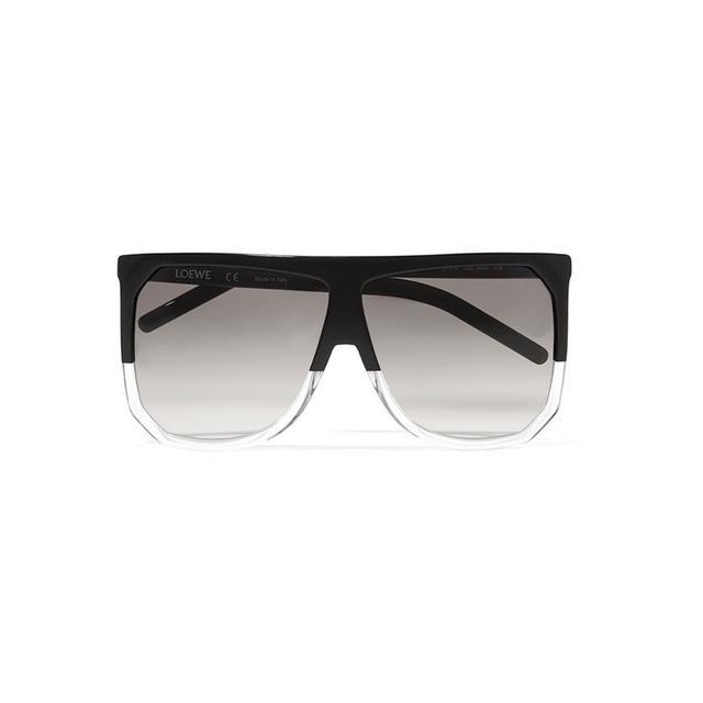 Loewe Filipa D-Frame Acetate Sunglasses