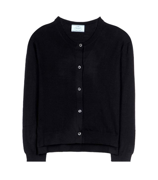 Prada Virgin Wool Cardigan