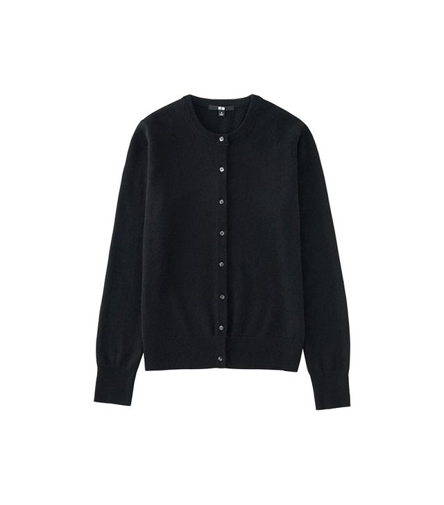 Uniqlo Cashmere Crew Neck Cardigan