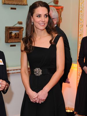 The Unique Way Kate Middleton Styled Her Midi Dress