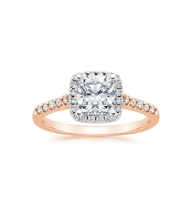 Brilliant Earth Mixed Metal Odessa Diamond Ring