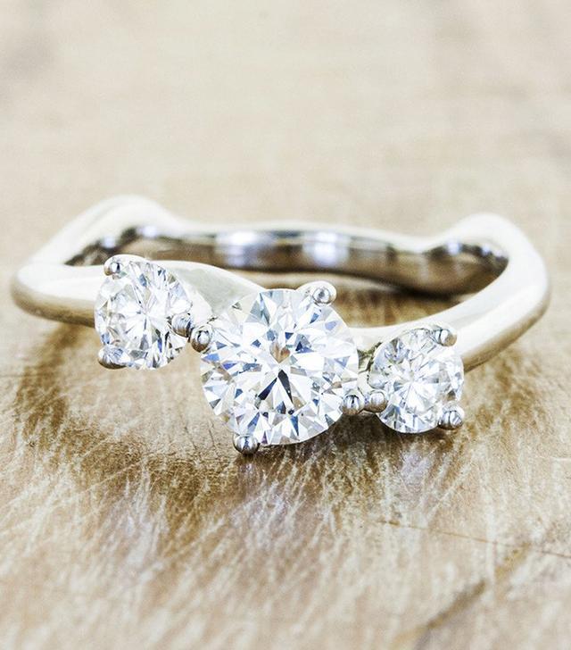 Ken & Dana Design Aurora Three-Stone Ring