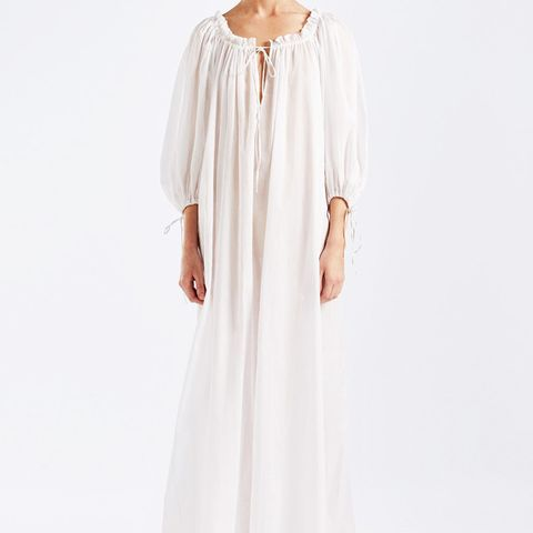 Almost a Honey Moon Maxi Dress White