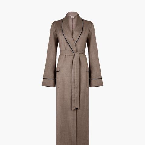 Bianca Wool Flannel Robe