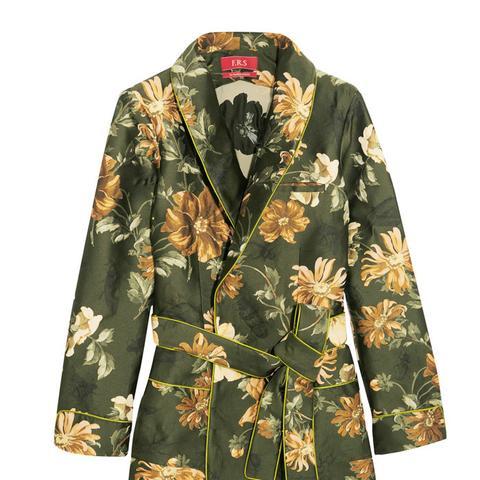 Jacquard Wrap Jacket
