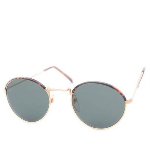 Hathaway Gold Sunglasses