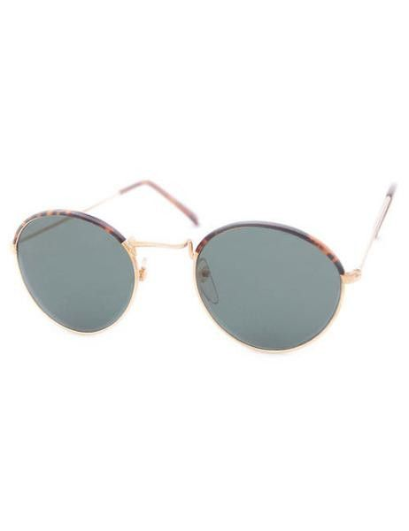 Giant Vintage Hathaway Gold Sunglasses