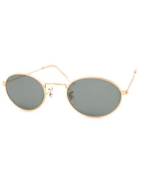Giant Vintage Kasha Gold Sunglasses