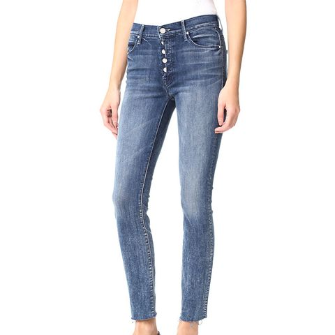 Fly Cut Stunner Fray Jeans