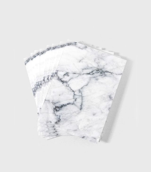 Well Received Marble Texture Stationary Set