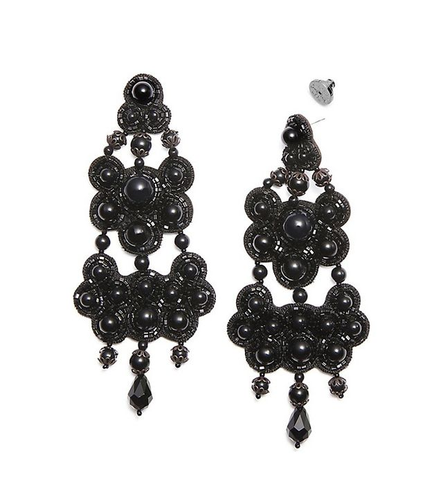 Tory Burch Beaded Chandelier Earring