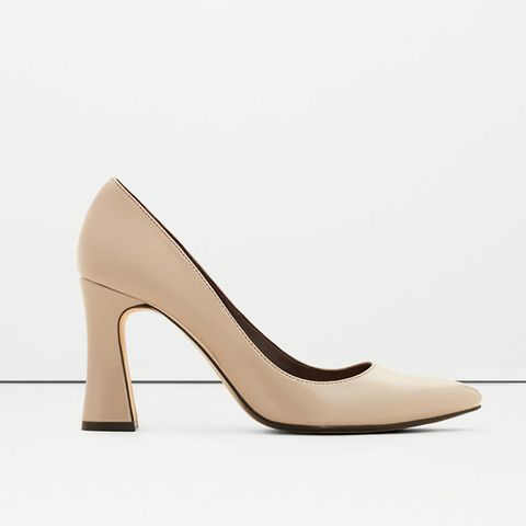 Patent Leather Heel Shoes