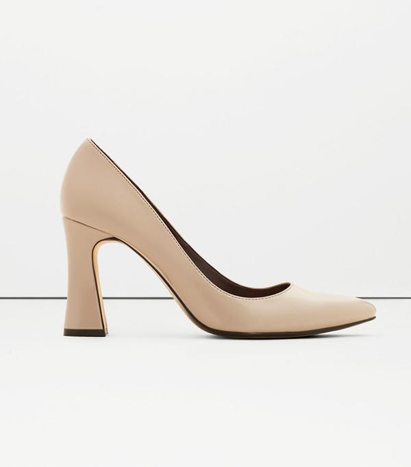 Mango Patent Leather Heel Shoes