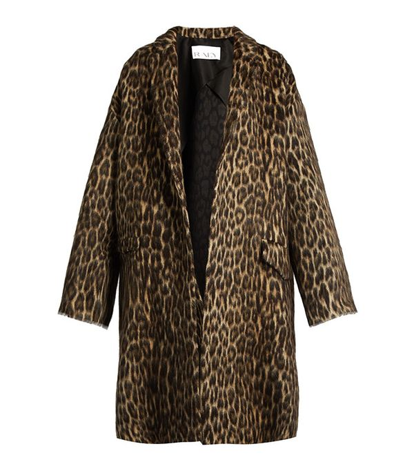 Raey Leopard Coat