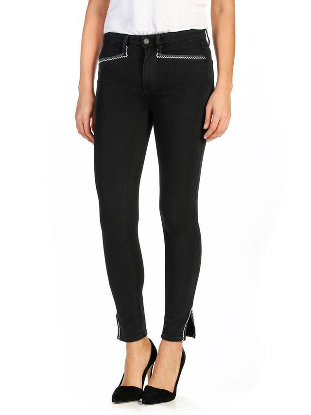 Paige Transcend Hunter Ankle Jeans