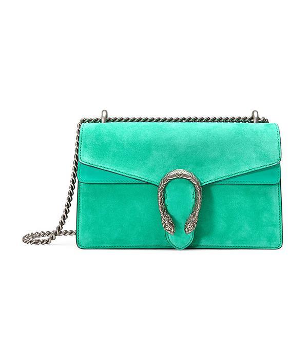Gucci Dionysus Suede Shoulder Bag