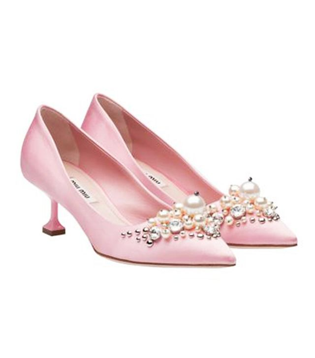 Miu Miu Satin Pump