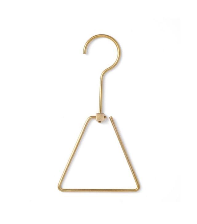 Chiba Metal Works & Design Triangle Brass Hanger