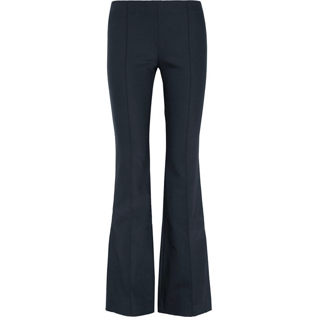 The Row Becaro stretch-cady flared pants