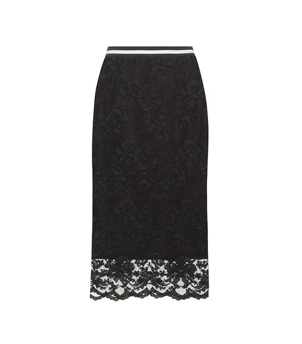 Ganni Ayame Lace Skirt