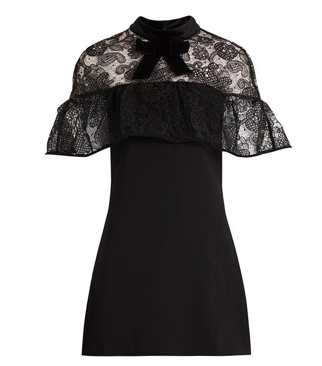 Self-Portrait Line Lace Mini Dress