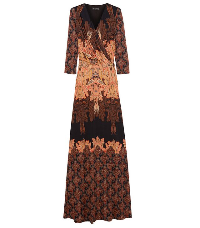 Etro Paisley-Print Maxi Dress