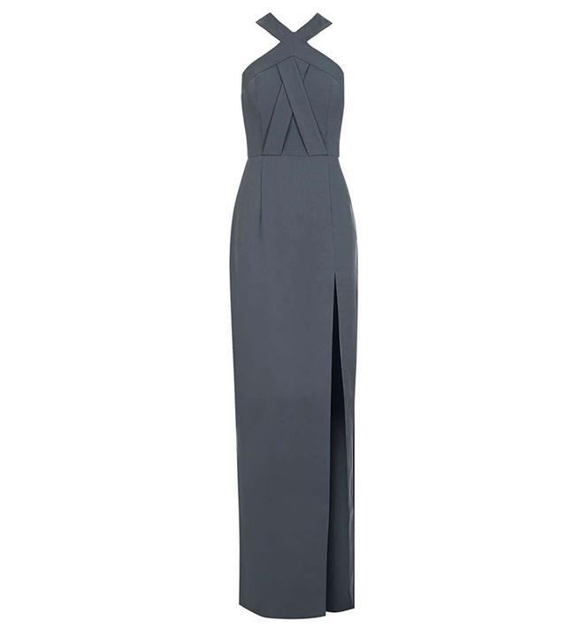 Topshop Cross-Front Maxi Dress