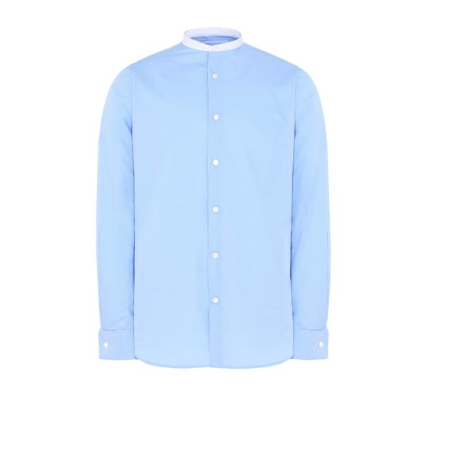 Stella McCartney Blue Poplin Shirt