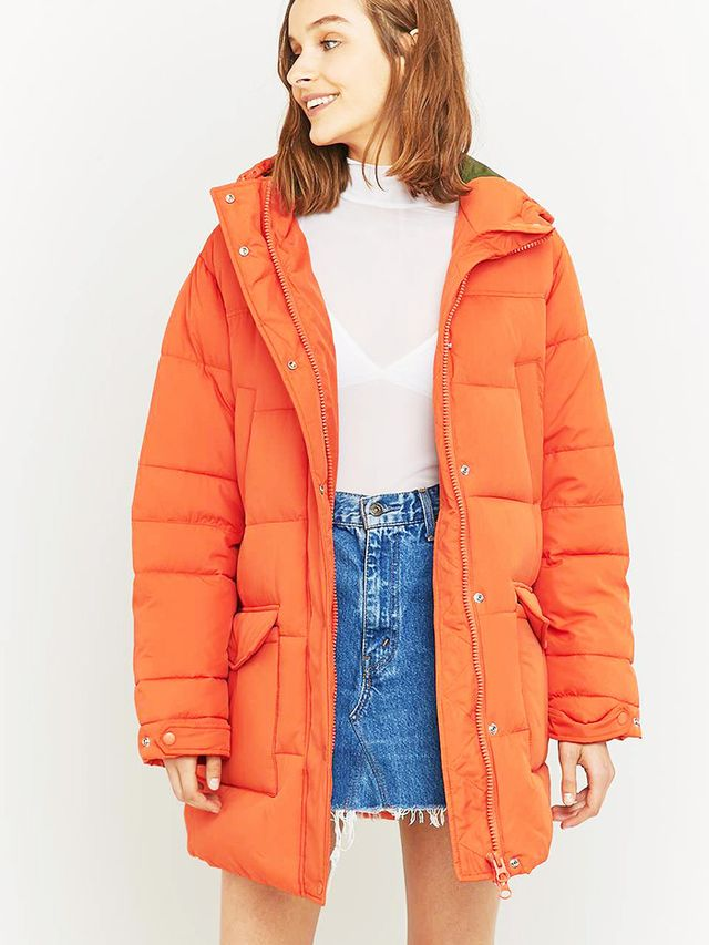 Light Before Dark Oversized Hooded Puffer Jacket