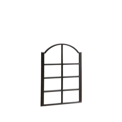 Black Window Mirror