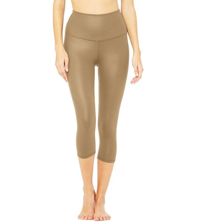 Alo High-Waist Airbrush Capris