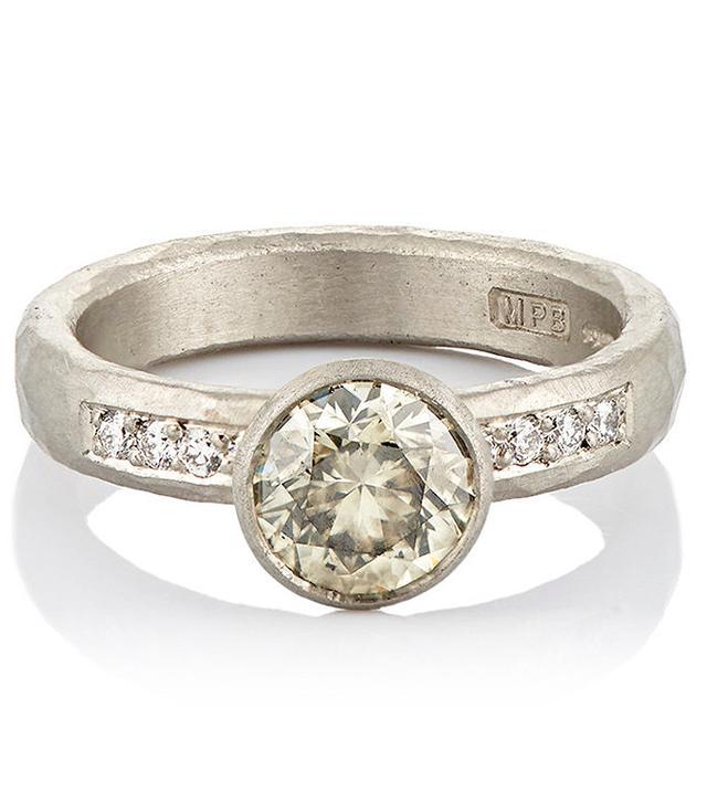 Malcolm Betts Mixed-Diamond Ring