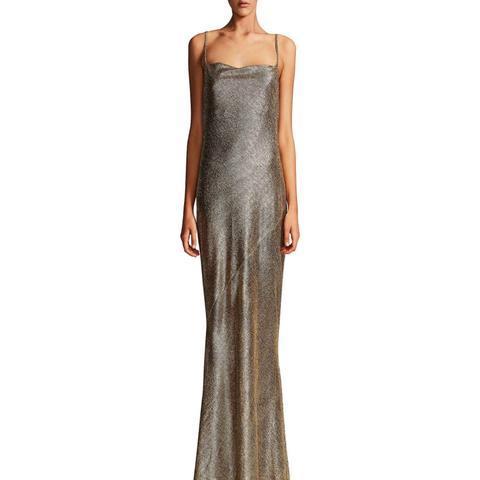 Kula Cowl Bias Slip Dress