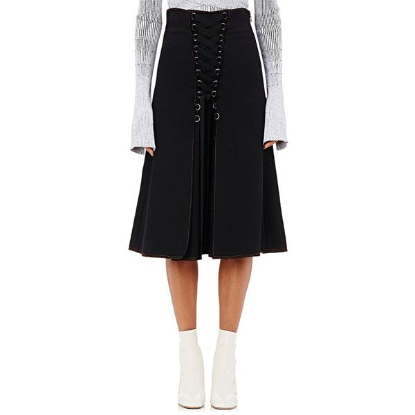 Proenza Schouler Lace-Up Midi Skirt