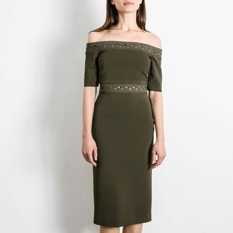 Eclipse Laced Shoulderless Dress