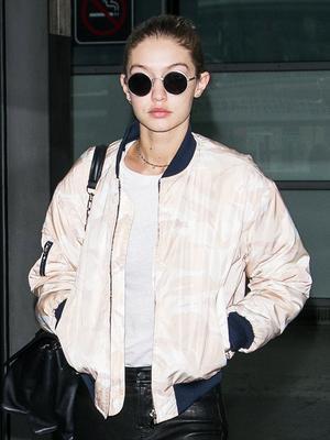 Gigi Hadid Just Flew in Jessica Alba's Favorite Travel Pants