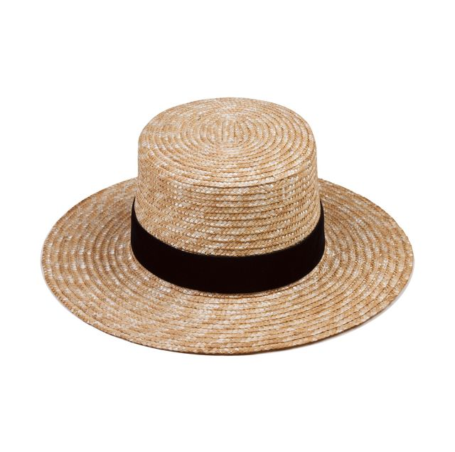 Lack of Color Midnight Velour Straw Hat
