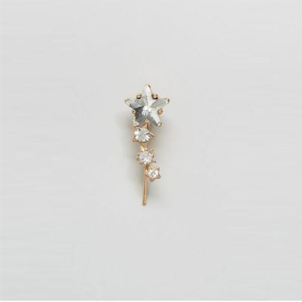 Zara Long Star Earrings