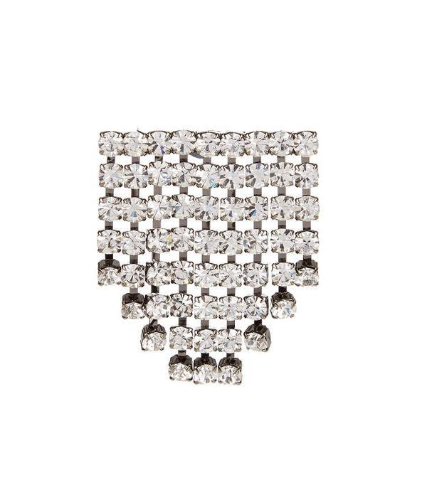 NO. 21  Crystal-Embellished Brooch