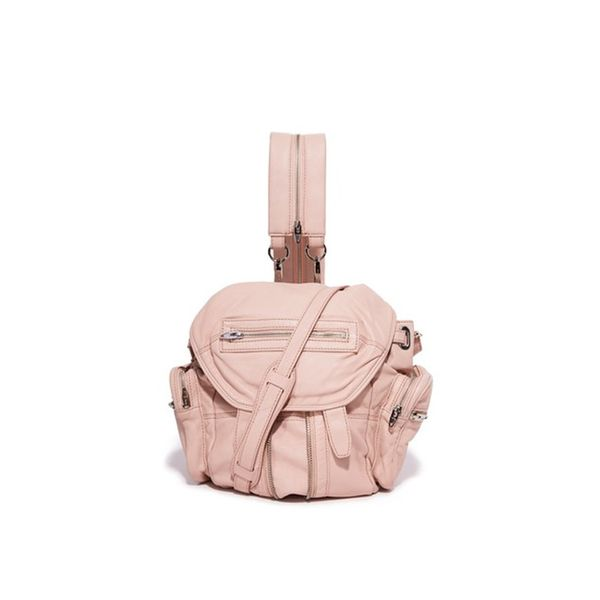 Zara Mini Leather Backpack