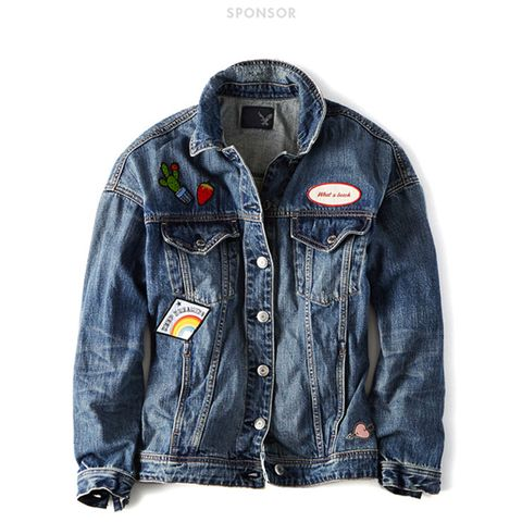 Patched Denim Jackets