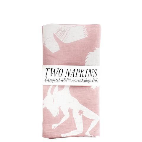Mythic Linen Napkin Set